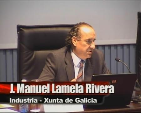 D. José Manuel Lamela Rivera. Dirección General de Industria de la Xunta de Galicia - Xornada técnica: As microalgas como fonte sostible de produción de biocombustibles e de tratamento de residuos hídricos: o proxecto ENERBIOALGAE